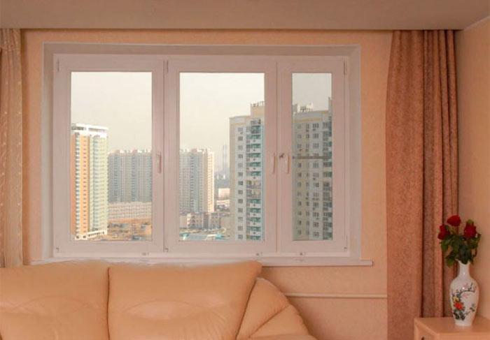 Квартира с окнами блитц нью