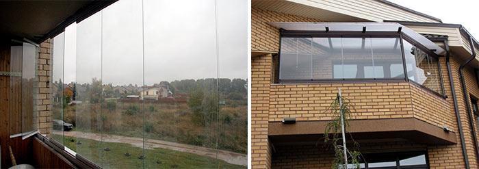 Фото балкона со стороны