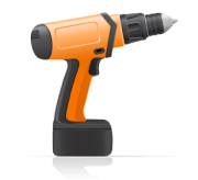 electric-screwdriver-vector-illustration